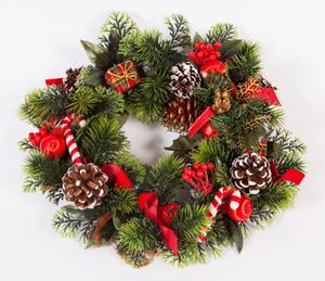 今年はクリスマス飾り作り体験