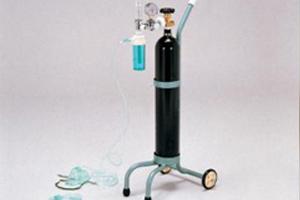 キャリー型酸素吸入器