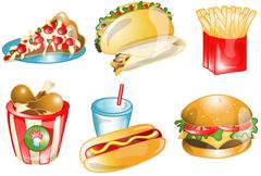 現代人の偏った食事