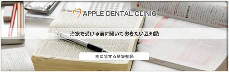 治療を受ける前に見ていただきたい歯の話