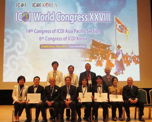 ICOI韓国にてディプロマ指導医に認定されました