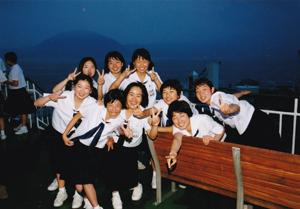 中学生時代 上田佑香